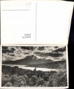 619070,Foto Ak Küssnacht Vierwaldstättersee u. Pilatus