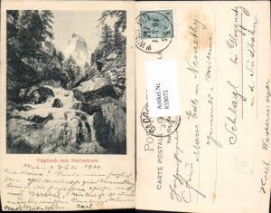 619072,Visp Vispbach m. Matterhorn