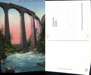 619081,Filisur Albulabahn Landwasser-Viadukt Viadukt