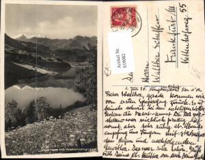 619082,Lungern Lungerersee m. Wetterhorngruppe