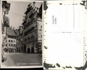619084,Foto Ak Zug Museum u. Rathauskeller