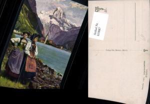 619087,Flüelen Schweizertrachten Tracht