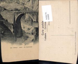 619090,Gotthard Furka Teufelsbrücke Brücke Viadukt Göschenen