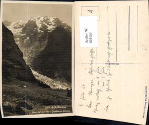 619103,Große Scheidegg Blick a. d. Obern Grindelwald-Gletscher Grindelwald