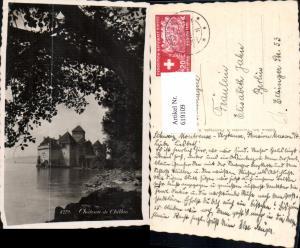 619109,Foto Ak Veytaux Chateau de Chillon