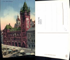 619121,Basel Rathaus Ansicht