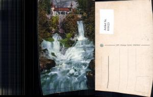619123,Beatushöhlen a. Thunersee Wasserfälle Sundlauenen Beatenberg