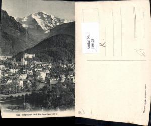 619125,Interlaken u. d. Jungfrau