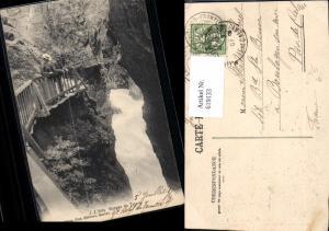 619133,Gorges du Trient Schlucht Vernayaz Trientschlucht