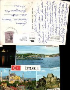 618379,Mehrbild Ak Istanbul Süleymaniye Anadolu Hisari Ayasofya Turkey