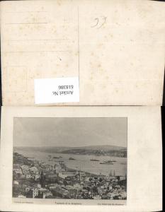 618386,Foto Ak Istanbul Tophane et le Boshpore Turkey
