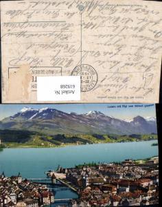 619268,Luzern m. Rigi v. Gütsch gesehen