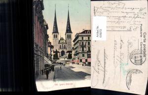 619272,Luzern Hofkirche Kirche Kutsche