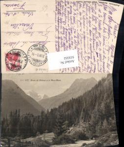 619332,Route de Finhaut et le Mont Blanc