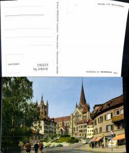619365,Foto Ak Lausanne la Cathedrale Kathedrale