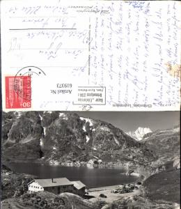619373,Foto Ak Grimselpass Lauteraarhorn Bus Gletsch