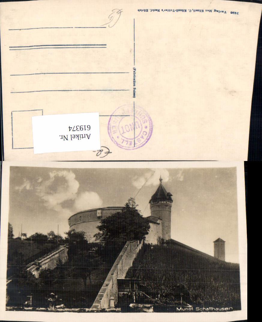 619374,Munot Schaffhausen Castell Schloss 0