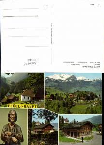 619419,Mehrbild Ak Sachseln Flüeli-Ranft Ranft Br. Klaus Wohnhaus Geburtshaus