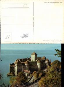 619504,Veytaux Chateau de Chillon pres Montreux