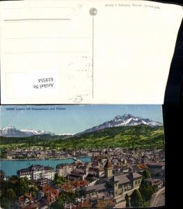 619554,Luzern m. Stanserhorn u. Pilatus