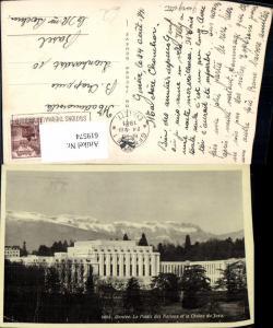 619574,Geneve Genf Le Palais des Nations et la Chaine du Jura