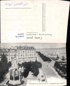 619576,Geneve Genf Monument de Brunswick et Promenade du Leman