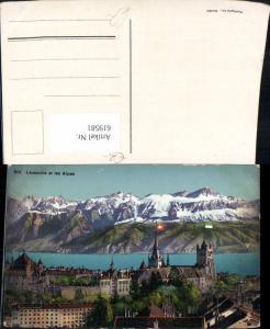 619581,Lausanne et les Alpes