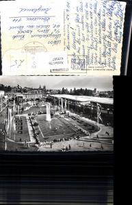 619587,Foto Ak Lausanne Foire National Lausanne Comptoir Suisse Brunnen