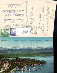 619596,Zürich See u. Alpen Gipfelkarte