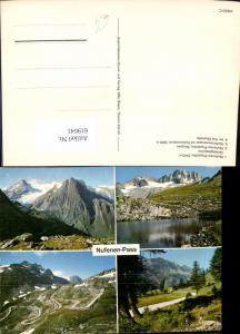 619641,Mehrbild Ak Ulrichen Nufenen-Pass Griesgletscher Val Bedretto