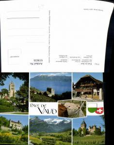 619656,Mehrbild Ak Pays de Vaud Les Diablerets Vufflens-le-Château