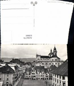 619660,Foto Ak Solothurn Klosterplatz