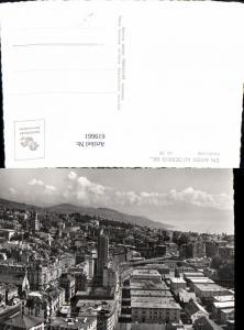 619661,Foto Ak Lausanne Ansicht En avion au-dessus de Lausanne