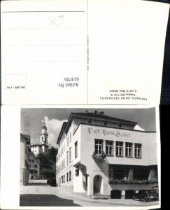 619705,Foto Ak Posthotel Julier Tiefencastel Albula Alvra