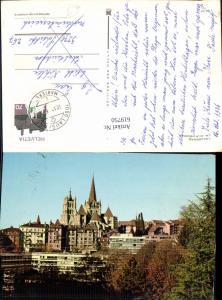 619750,Lausanne La cathedrale Kathedrale