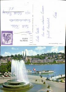 619753,Luzern Wagenbachbrunnen Springbrunnen Brunnen Schiffe Dampfer