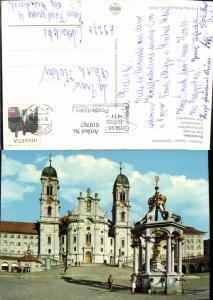 619767,Einsiedeln Kloster Wallfahrtskirche