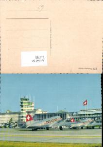 619785,Flughafen Kloten Zürich Airport Flugzeug Swissair Lines