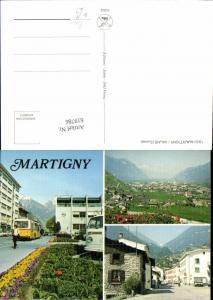 619786,Mehrbild Ak Martigny Martinach Postbus Bus VW Bully