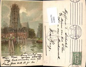 619802,Lithographie Henri Cassiers Dordrecht