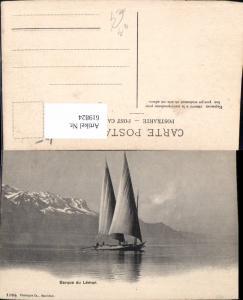 619824,Barque du Leman Genfersee Segelboot Segeln Genf