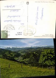 619870,Steg im Tösstal Gasthaus Hörnli-Kulm Blick ins Tösstal u. Alpen