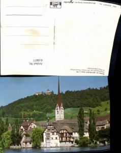 619877,Kloster St Georgen Stein a. Rhein m. Burg Hohenklingen