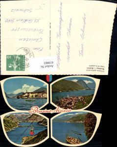 619883,Mehrbild Ak Il Ticino pittoresco Brusino Arsizio Lago di Lugano