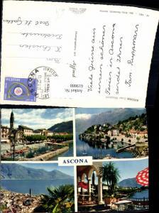 619888,Mehrbild Ak Ascona Lago Maggiore