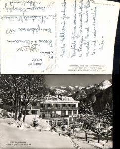 619902,Braunwald Hotel Alpina Winteransicht