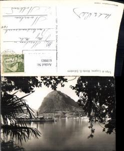 619903,Lago di Lugano Monte S. Salvatore Schiff Dampfer Generoso