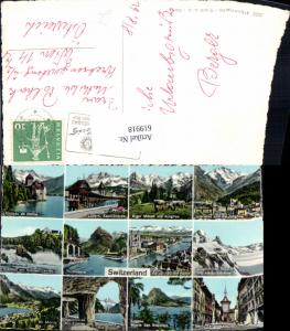 619918,Mehrbild Ak Switzerland Schweiz Luzern Laufen Zürich Bern