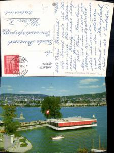 619924,Zürich See-Restaurant a. Mythenquai Boot