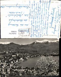 619966,Foto Ak Lugano Panorama